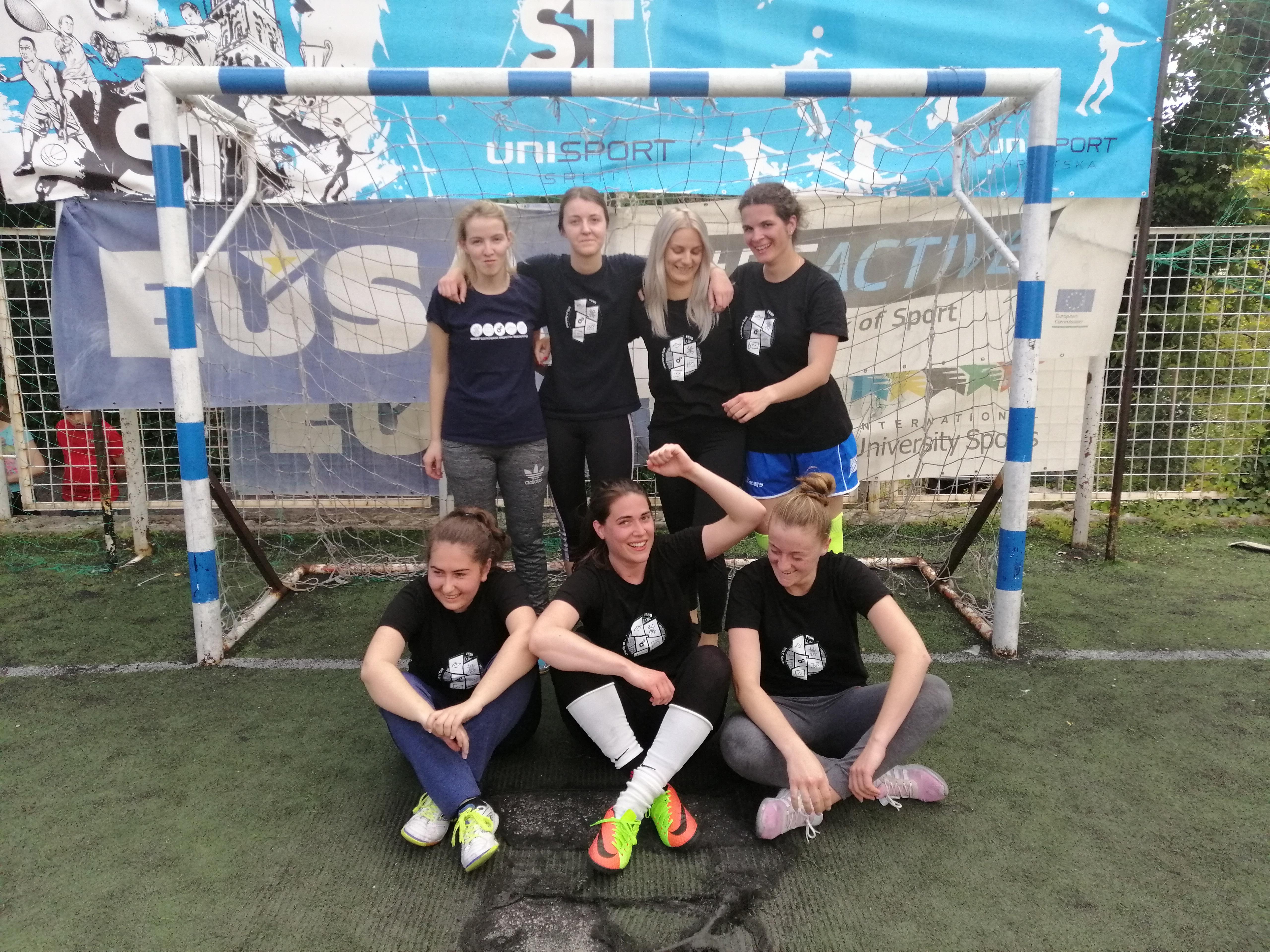 Studentice nogomet 2018/19